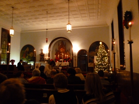 Christmas Eve Service at Zion
